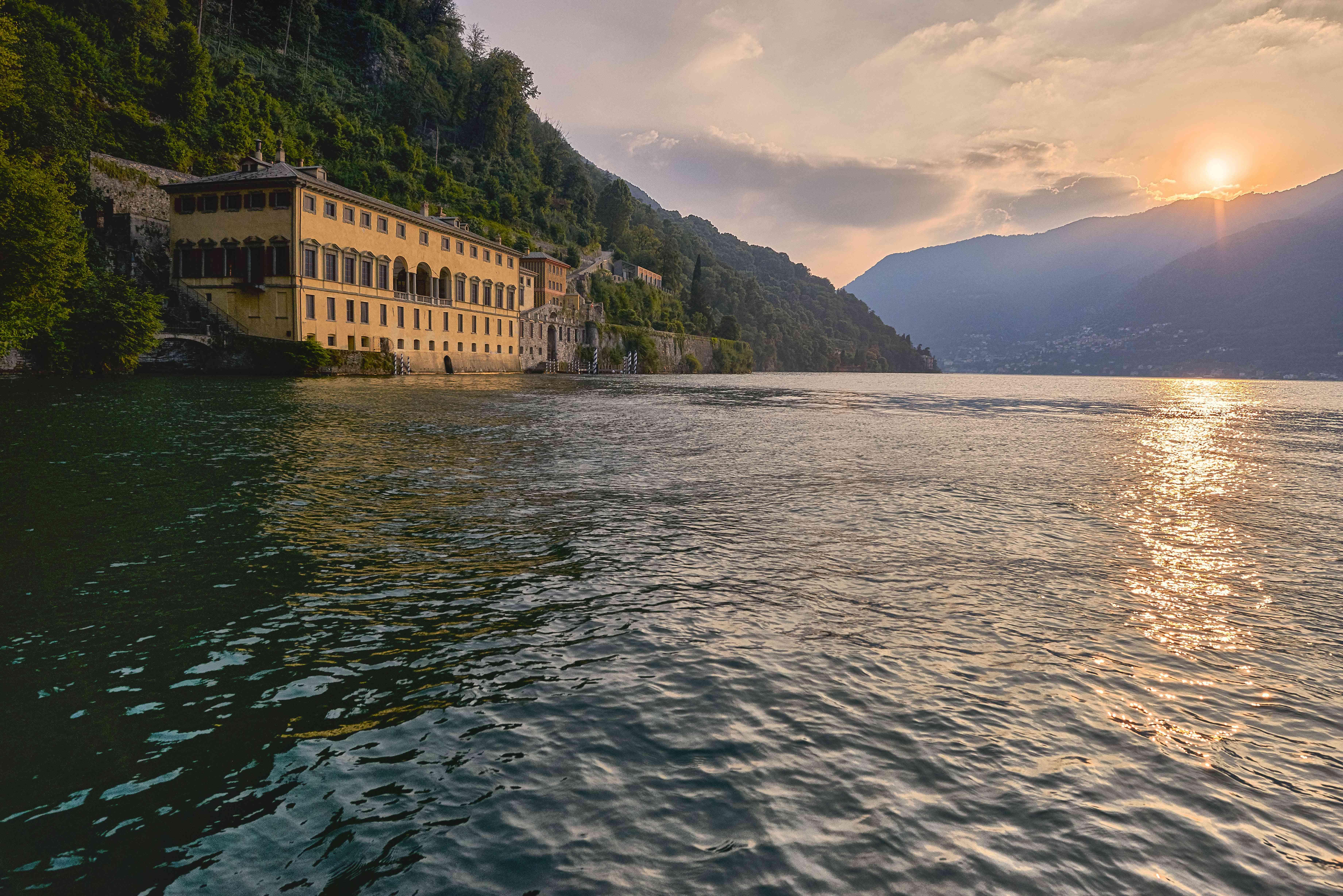 Villa Pliniana Sereno hotels Lake Como
