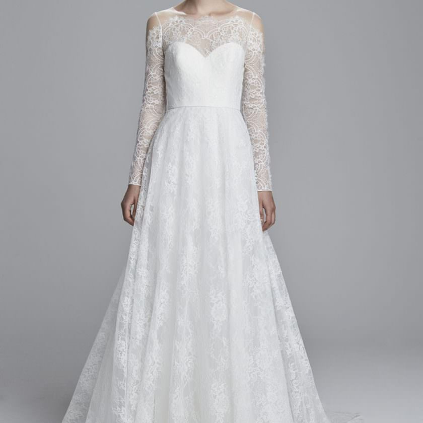 55724ee591 80 Long Sleeve Wedding Dresses For Every Bridal Style