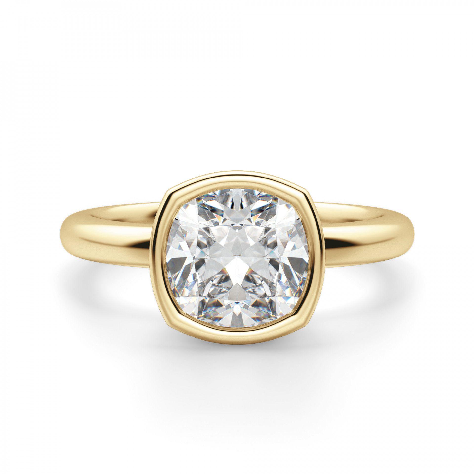 Diamond Nexus Marseille Cushion Cut Engagement Ring