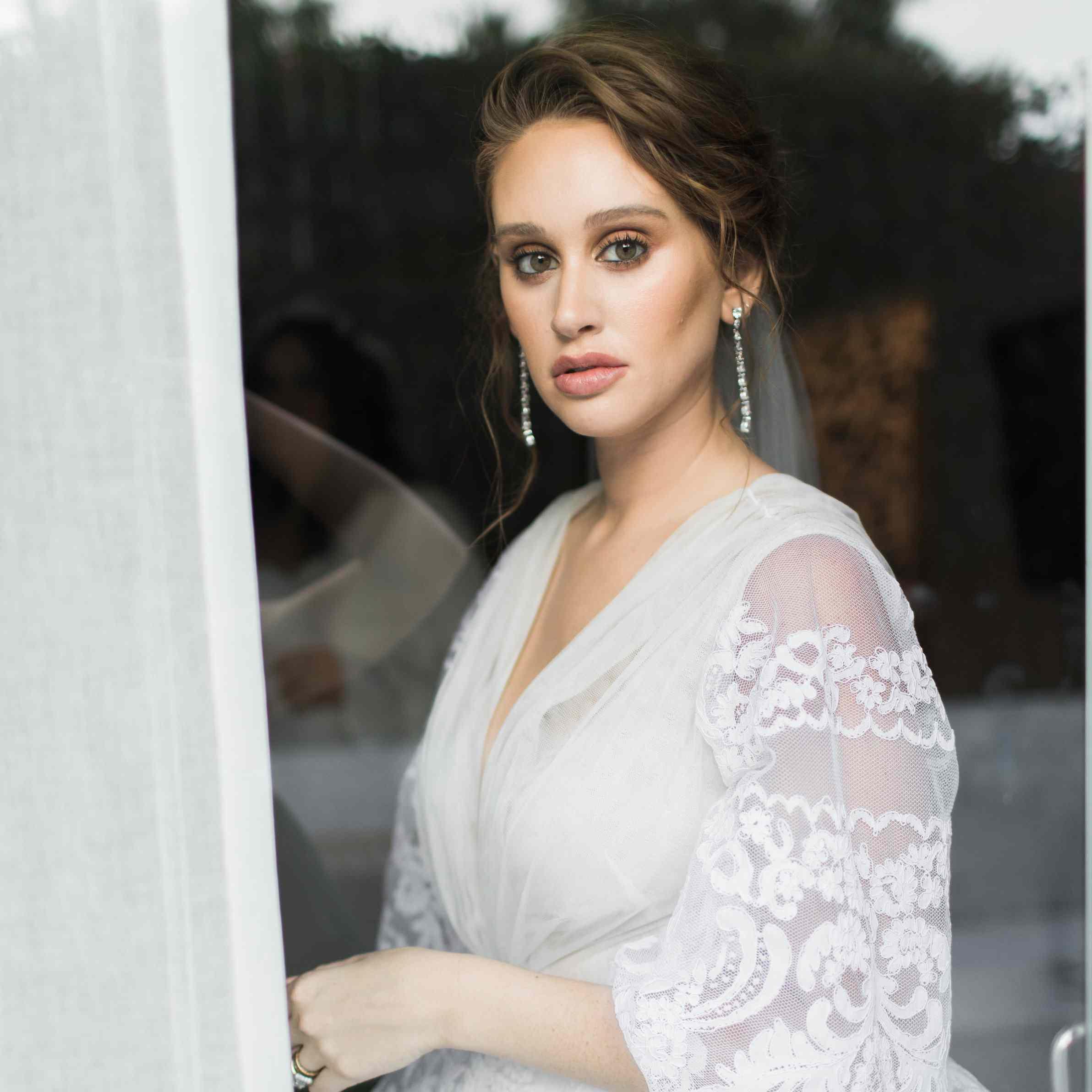 bride beauty look