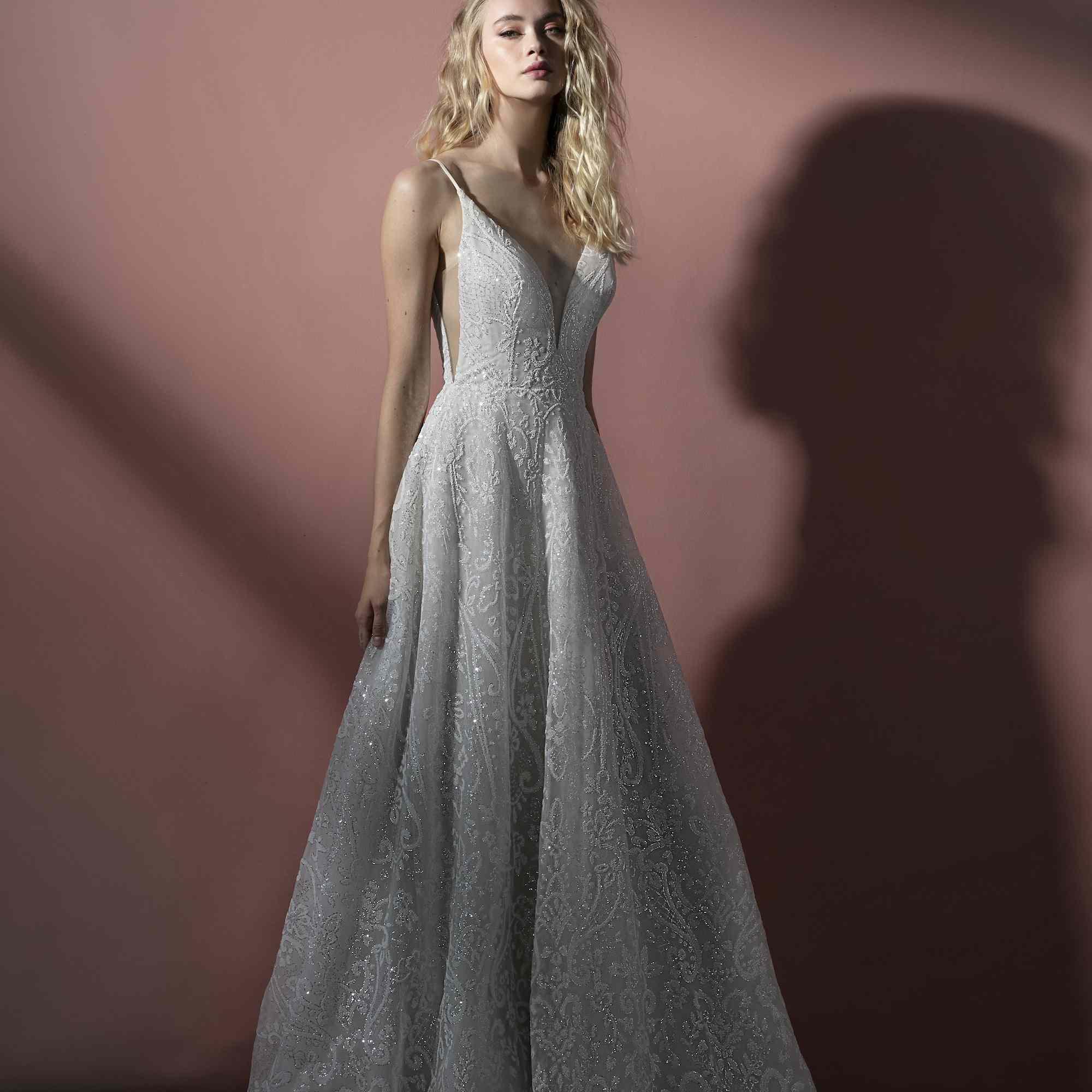 Wilma embellished wedding dress
