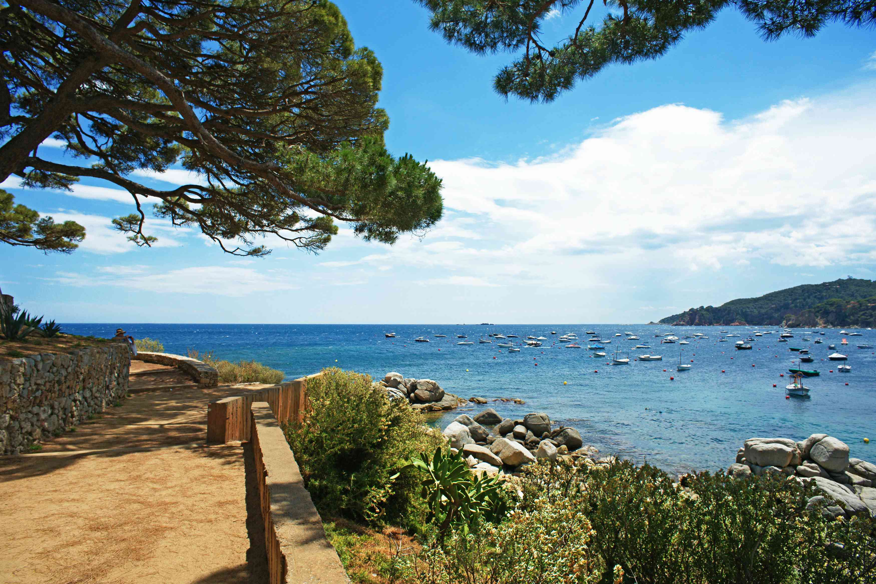Views of the Costa Brava
