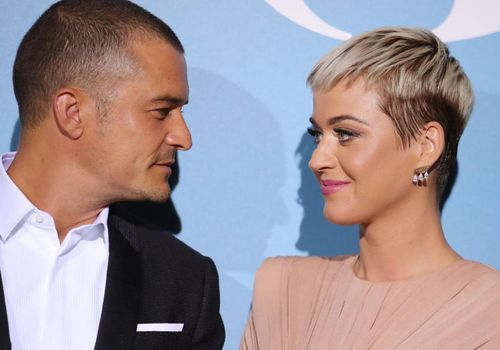 <p>Katy Perry and Orlando Bloom attend the Gala for the Global Ocean in Monaco.</p>