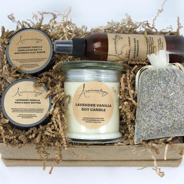 Aromaology Spa Gift Basket