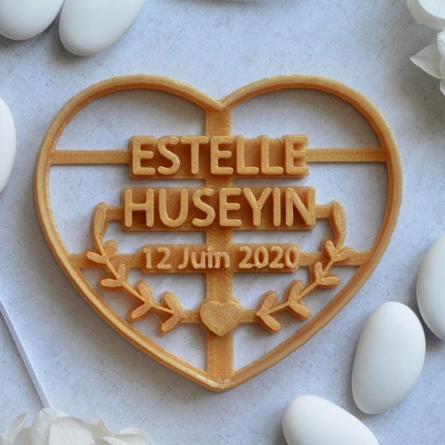 UneJolieFete Personalized Cookie Cutter