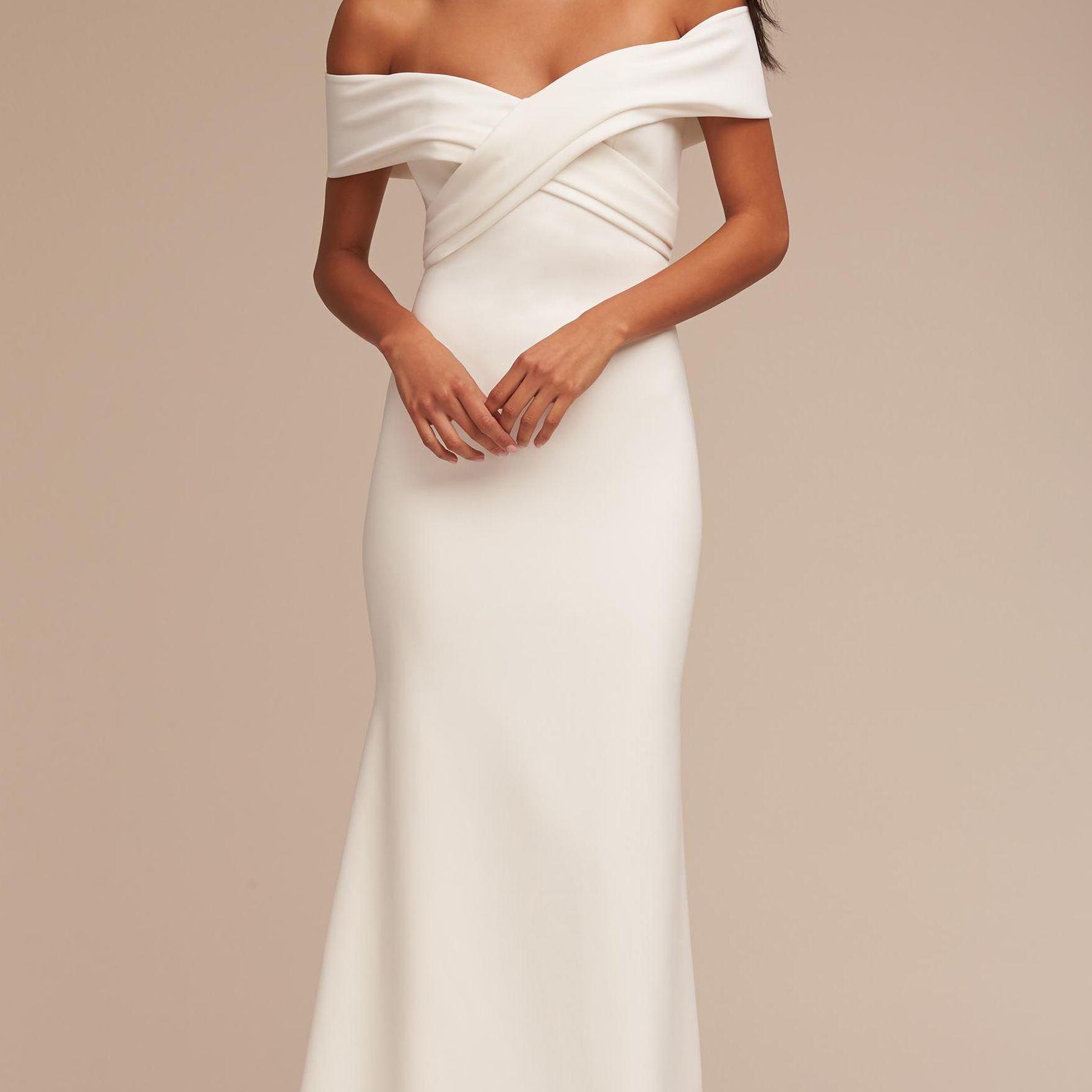 The 30 Best Wedding Dresses Under 1 000 Of 2020
