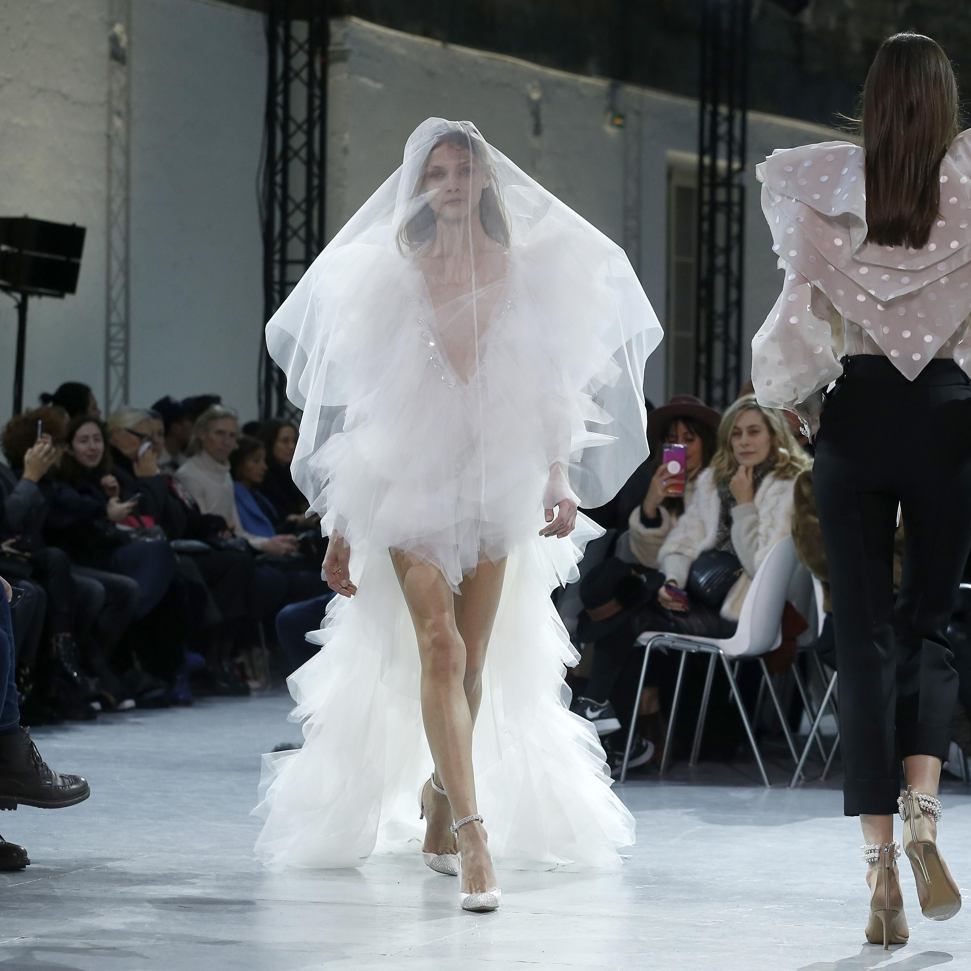 39 Couture Fashion Week Gowns That Have Bride Written All Over Them