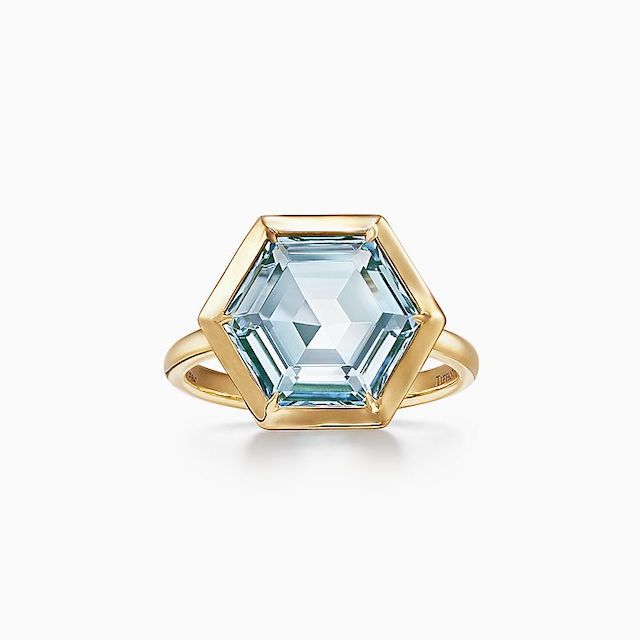 Tiffany & Co. Hexagon Ring