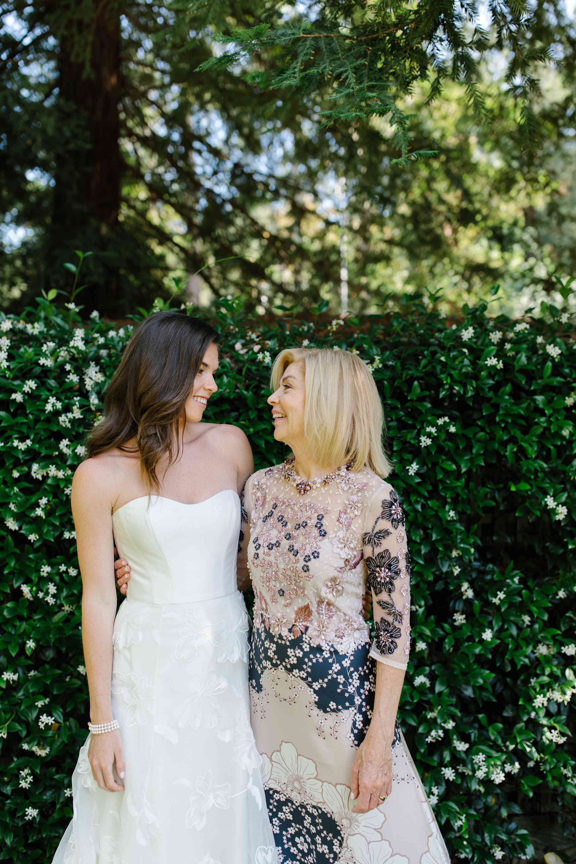 <p>bride with mother of the bride</p><br><br>