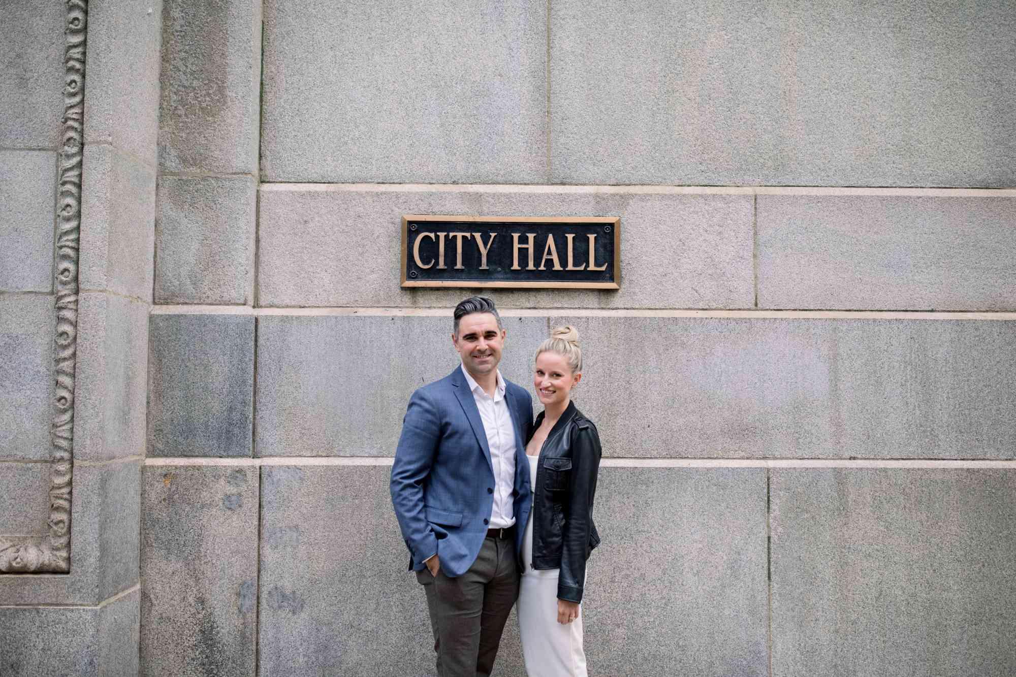 City Hall, wedding donation
