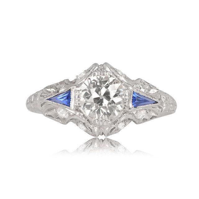 Estate Diamond Jewelry Tavira Ring