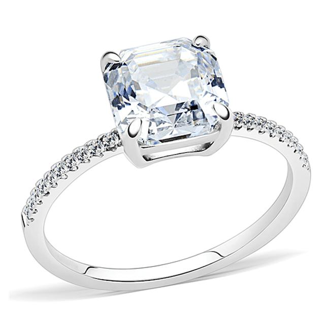 Blue Steel Divinity Ring