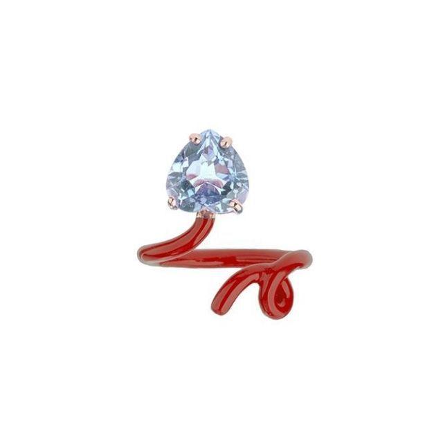 Bea Bongiasca Heart Tendril Ring