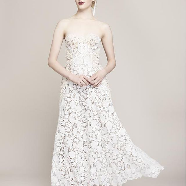 Lela Rose Bridal The Beaufort Dress, price upon request