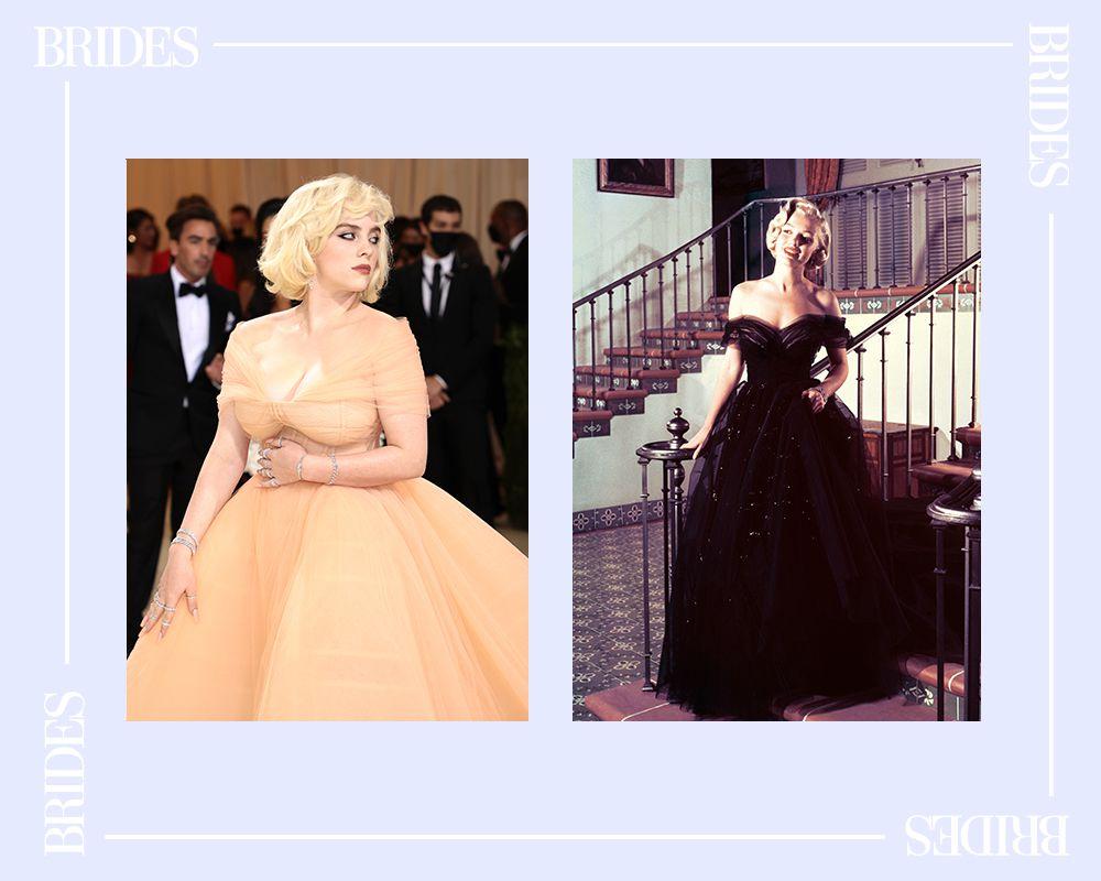 Billie Eilish and Marilyn Monroe