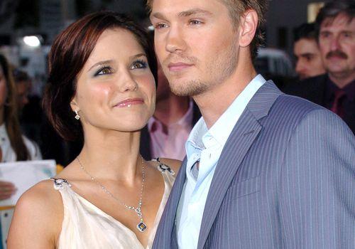 <p>Sophia Bush and Chad Michael Murray</p>