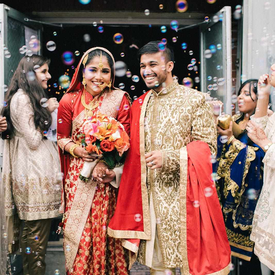 A Colorful Bengali Wedding That Lasted Three Days