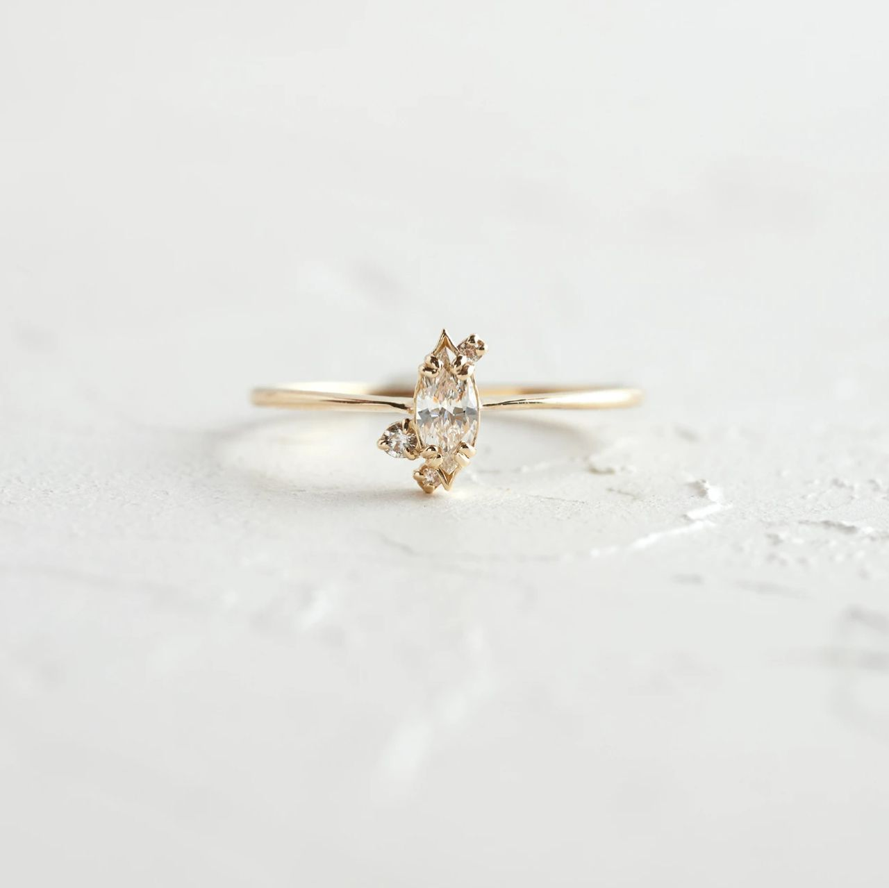 Melanie Casey Diamond Ember Ring