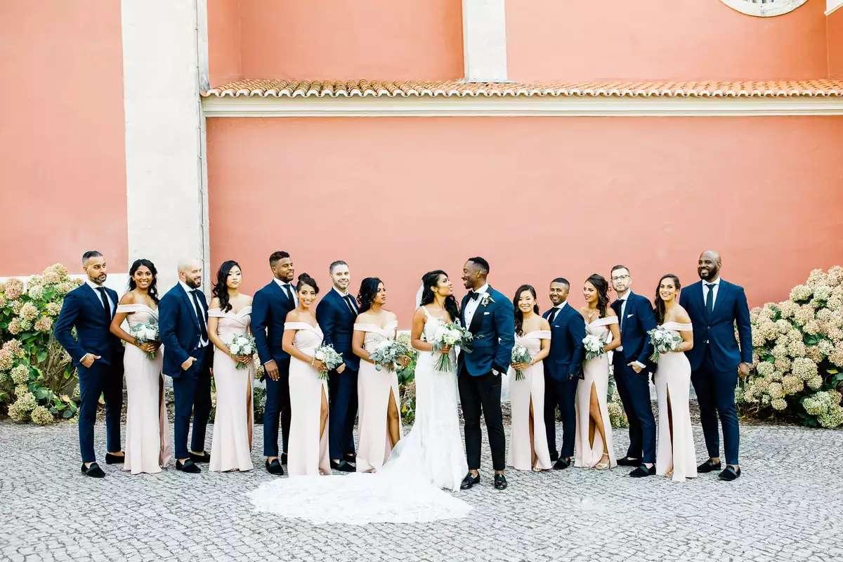 Sintra, Portugal wedding