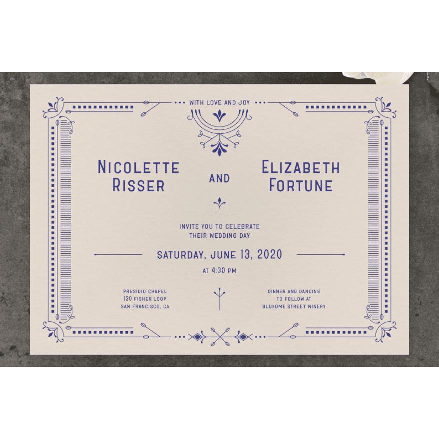 Zola Augusta Invitation