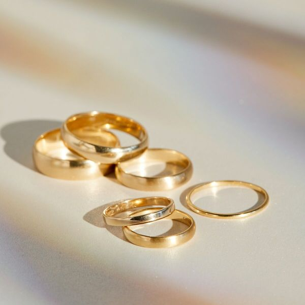 minimalism ring stacking ring Gold irregular shape ring architecture ring gold ring chunky ring irregular shape band wide band