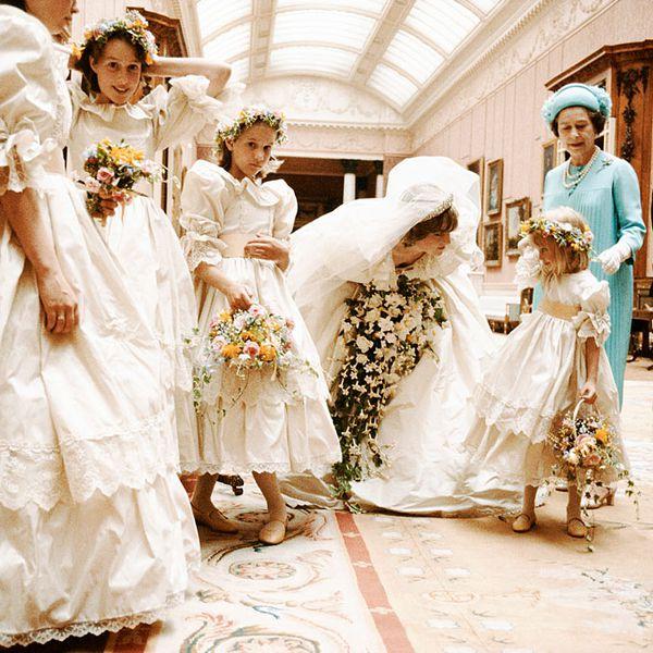 princess diana wedding day