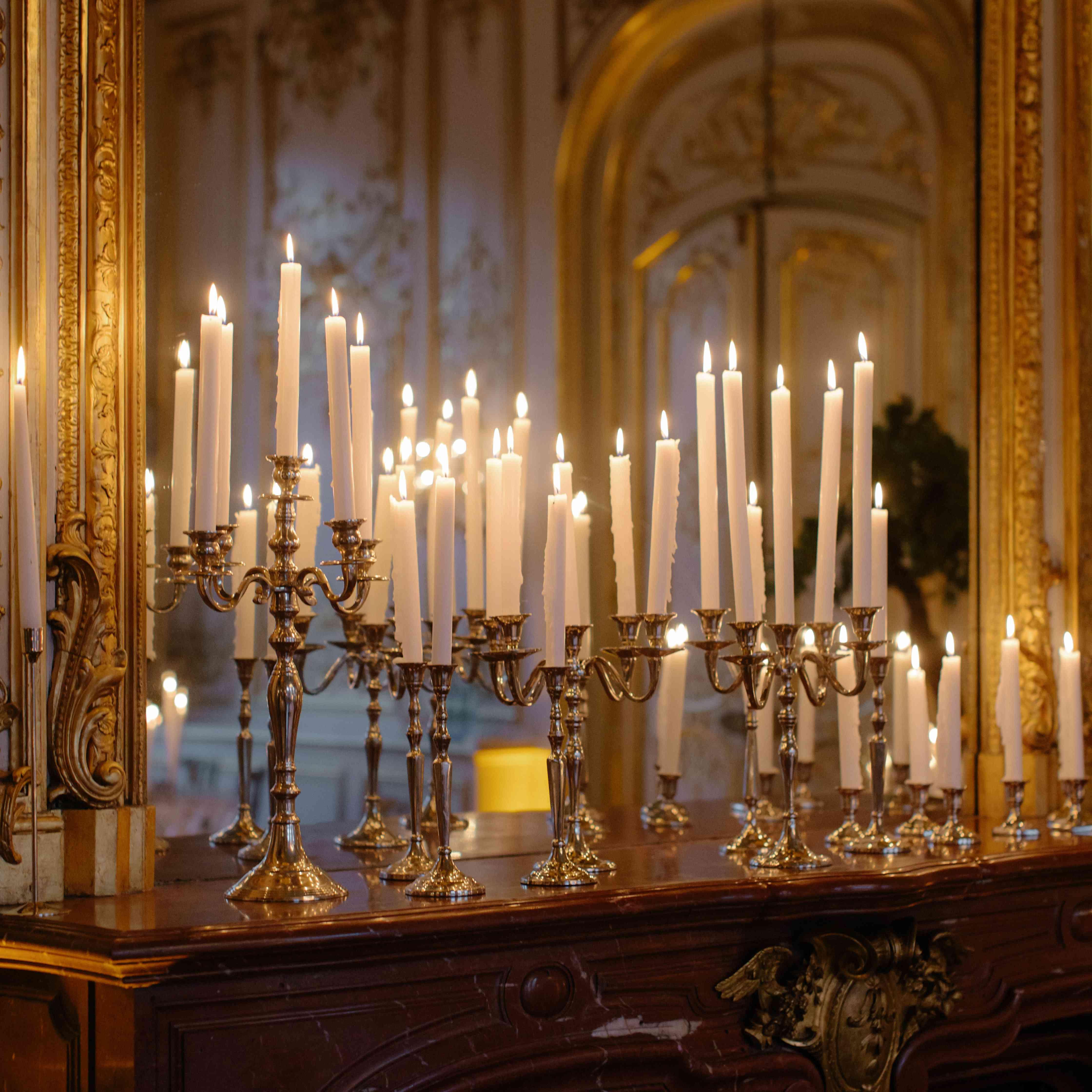 candelabras