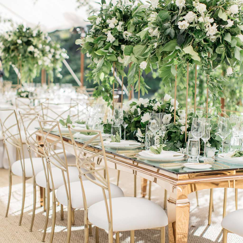 Every Type Of Wedding Chair You Can Rent For Your Ceremony And Reception