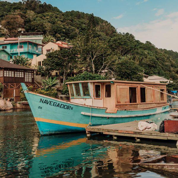 Boat in harbor