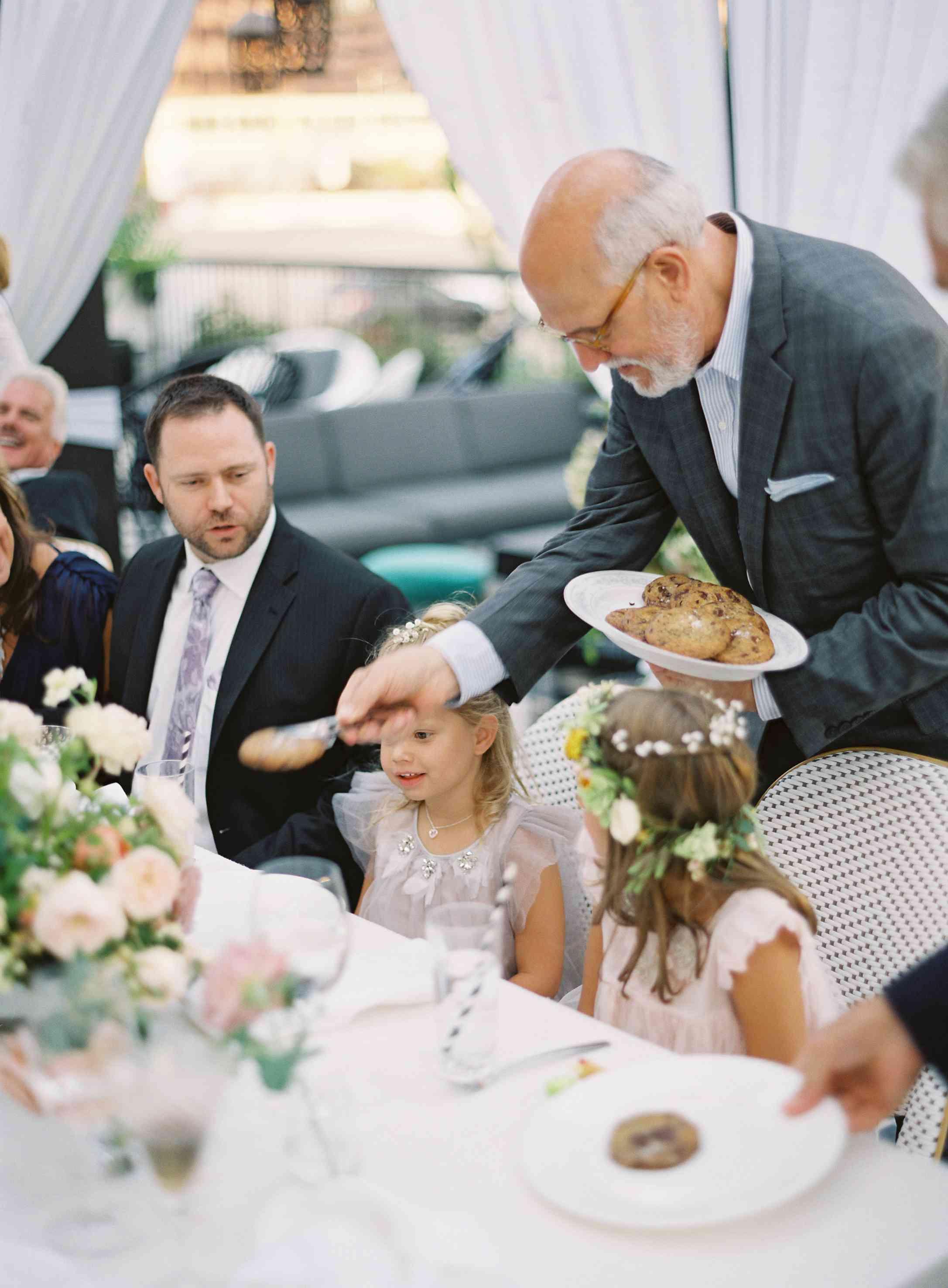 Dinner served family-style