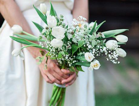 Calling All Spring Brides 32 Beautiful Bouquets With Tulips