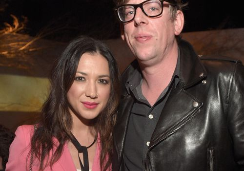 <p><p><p><p>Michelle Branch and musician Patrick Carney of The Black Keys attend a Grammy party.</p></p></p></p>