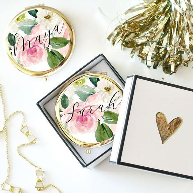 floral compact