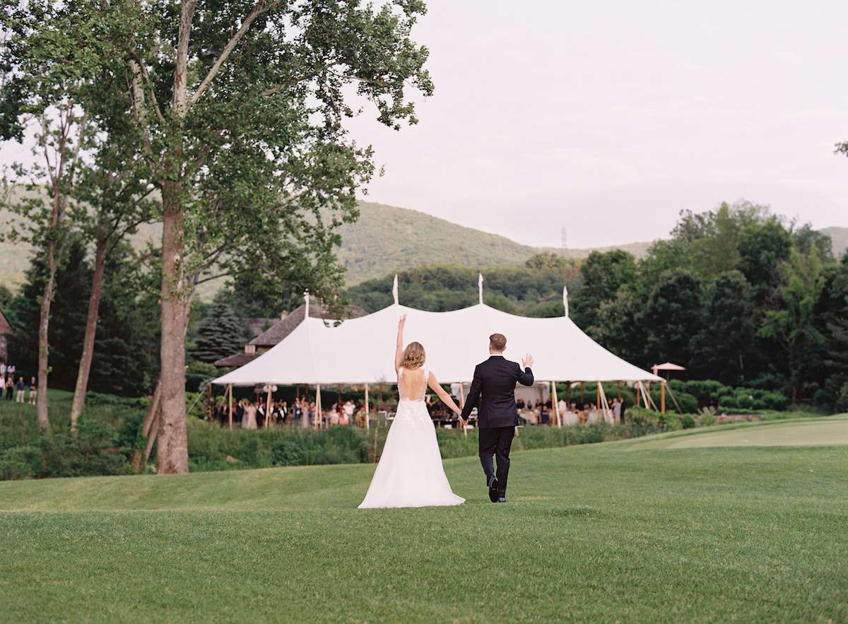 An Elegant, Laid-Back Wedding at The Greenbrier in West Virginia