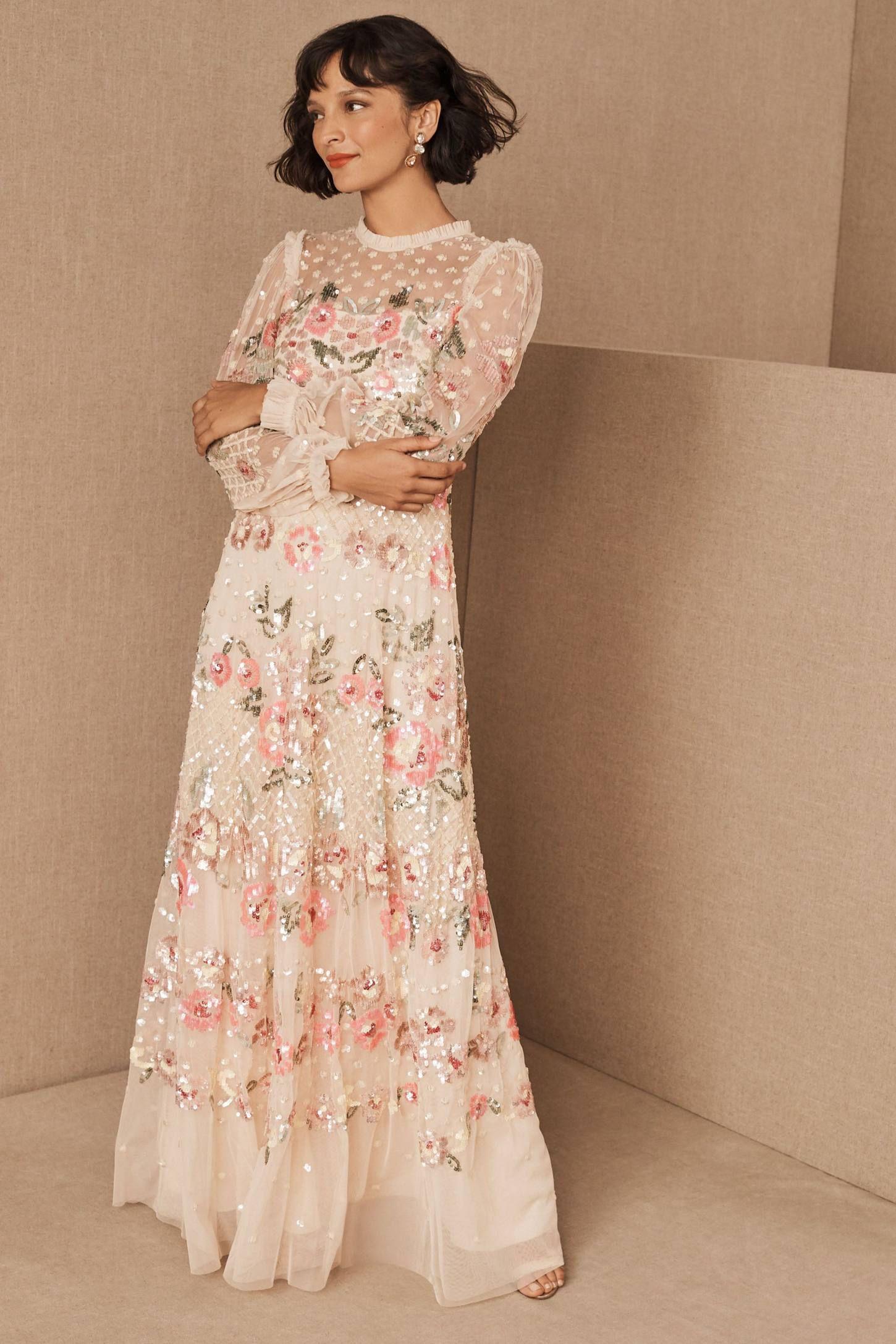 28+ Long Sleeve Winter Wedding Guest Dresses New 2020 ...