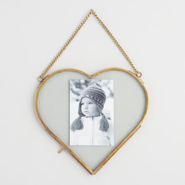 Brass Heart Reese Wall Frame