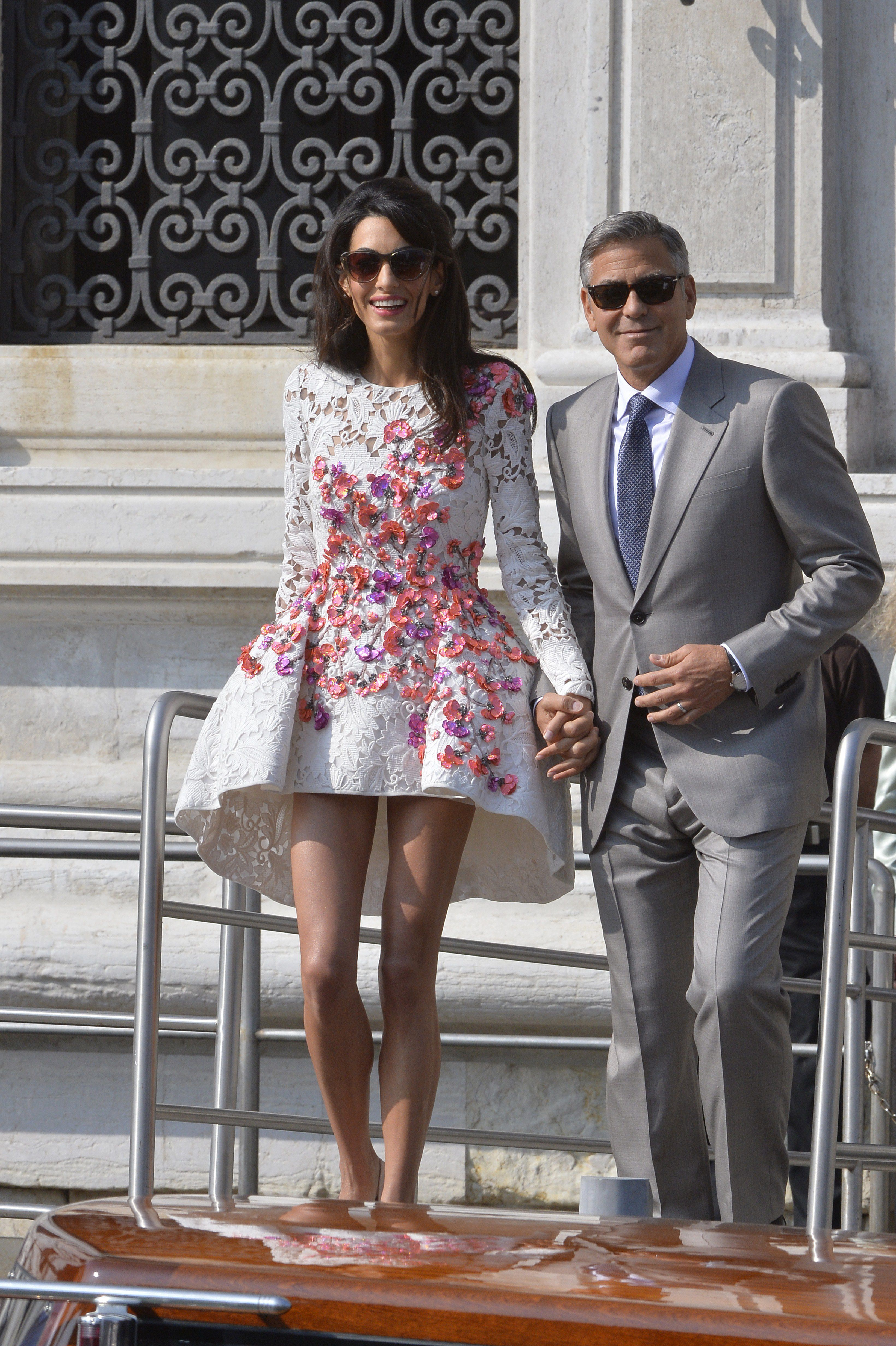 Happy 6-Year Wedding Anniversary, Amal and George Clooney!