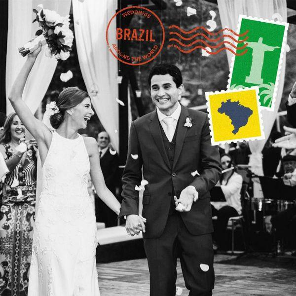 Brazilian wedding custom imagery