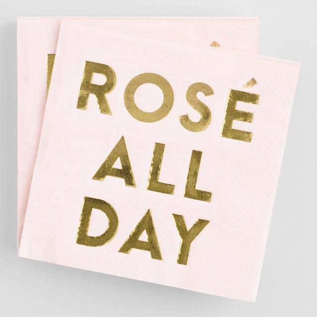 Rose All Day Cocktail Napkins