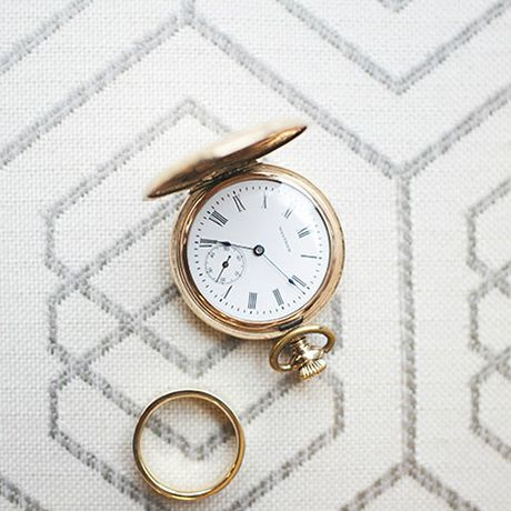 Pocket-watch and ring