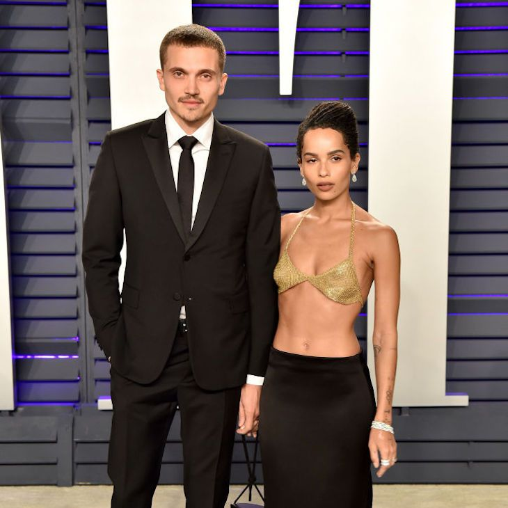 Zoe Kravitz And Husband Karl Glusman Are Rocking A Just