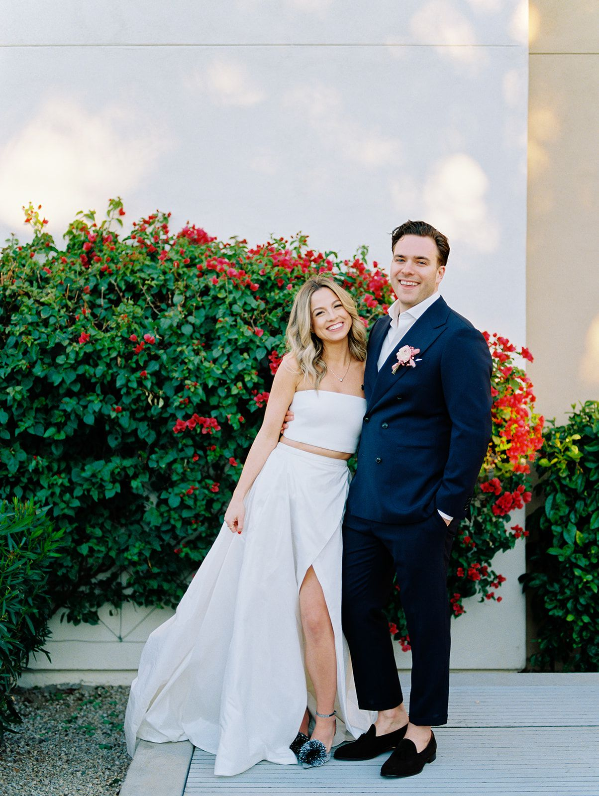 A Pink Hued Unexpected Destination Wedding In Scottsdale Arizona