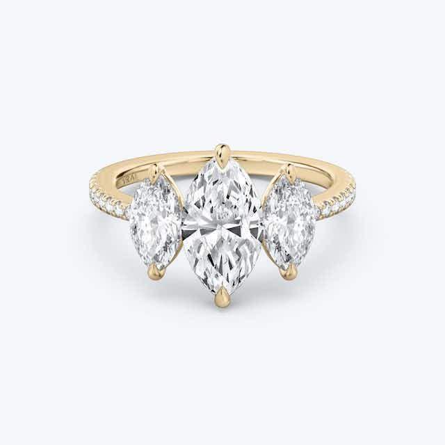 Vrai The Three Stone Ring