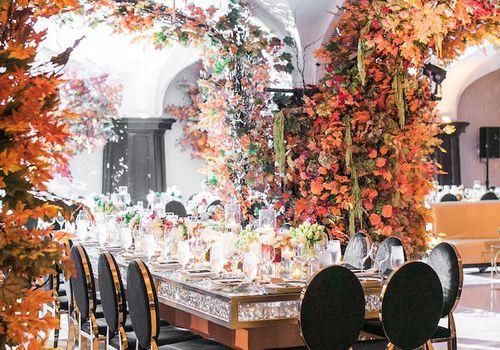 Autumnal Reception Space