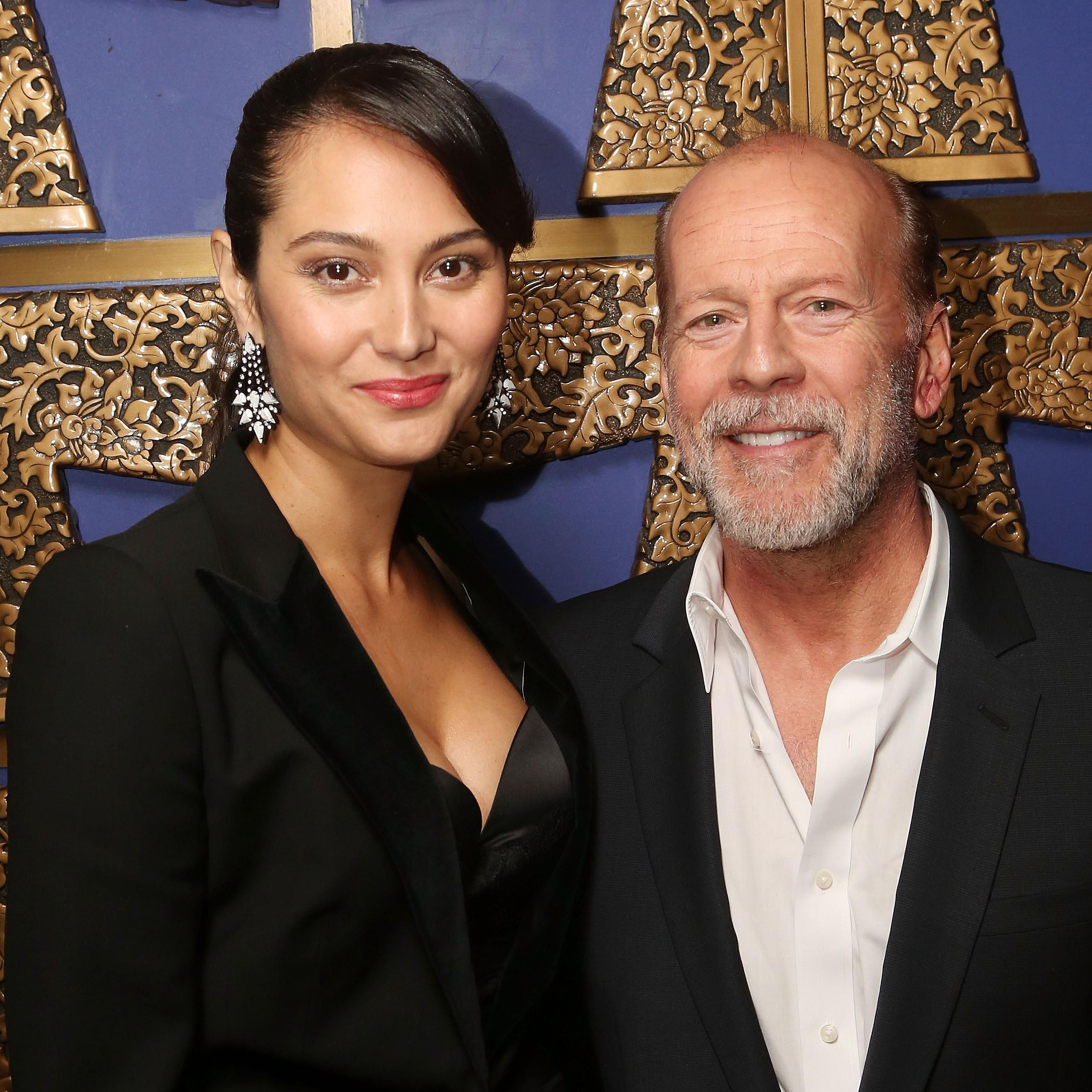 Bruce Willis And Wife Emma Heming Willis Renewed Their Vows And Demi Moore Was There To Celebrate
