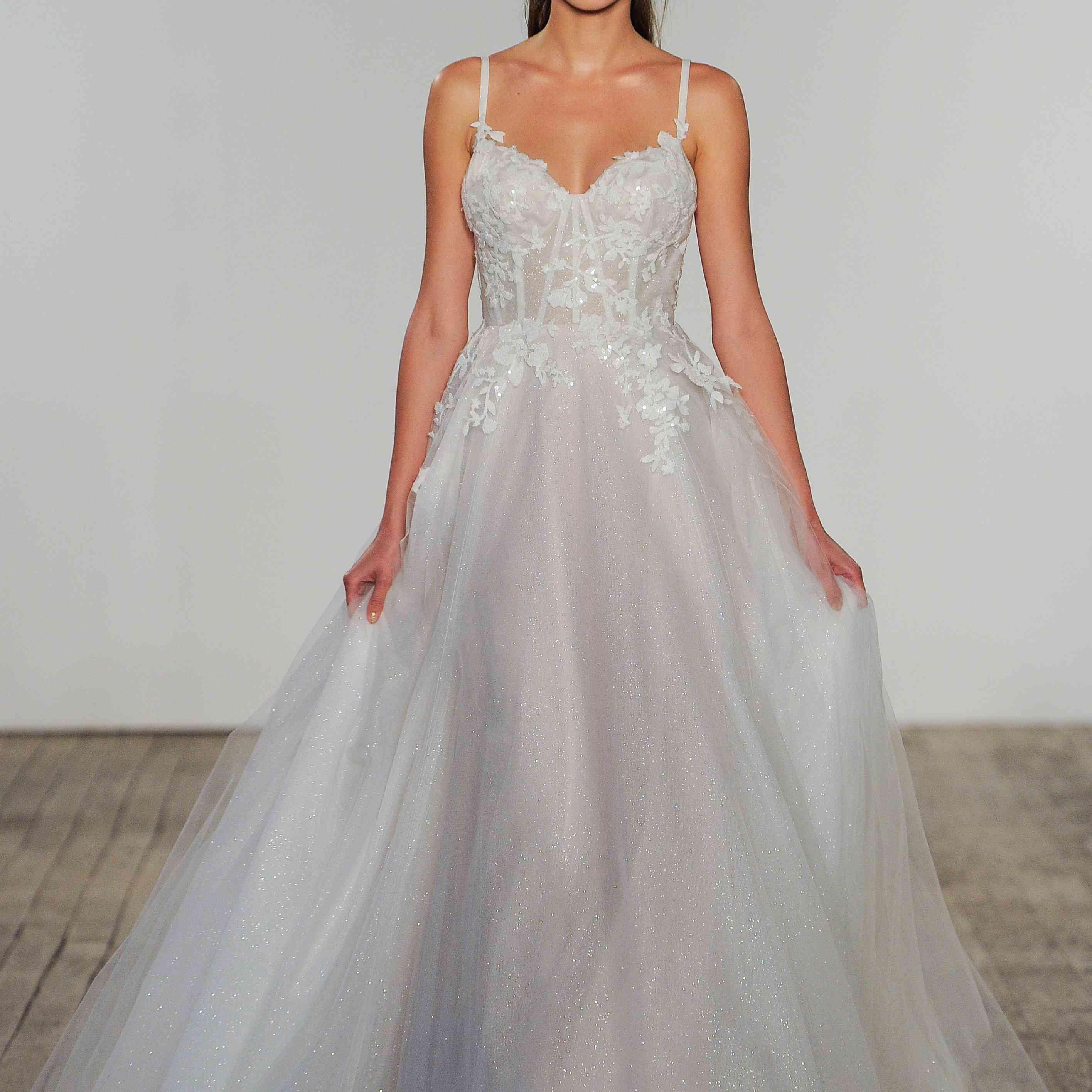 Isla Blush by Hayley Paige Wedding Dress