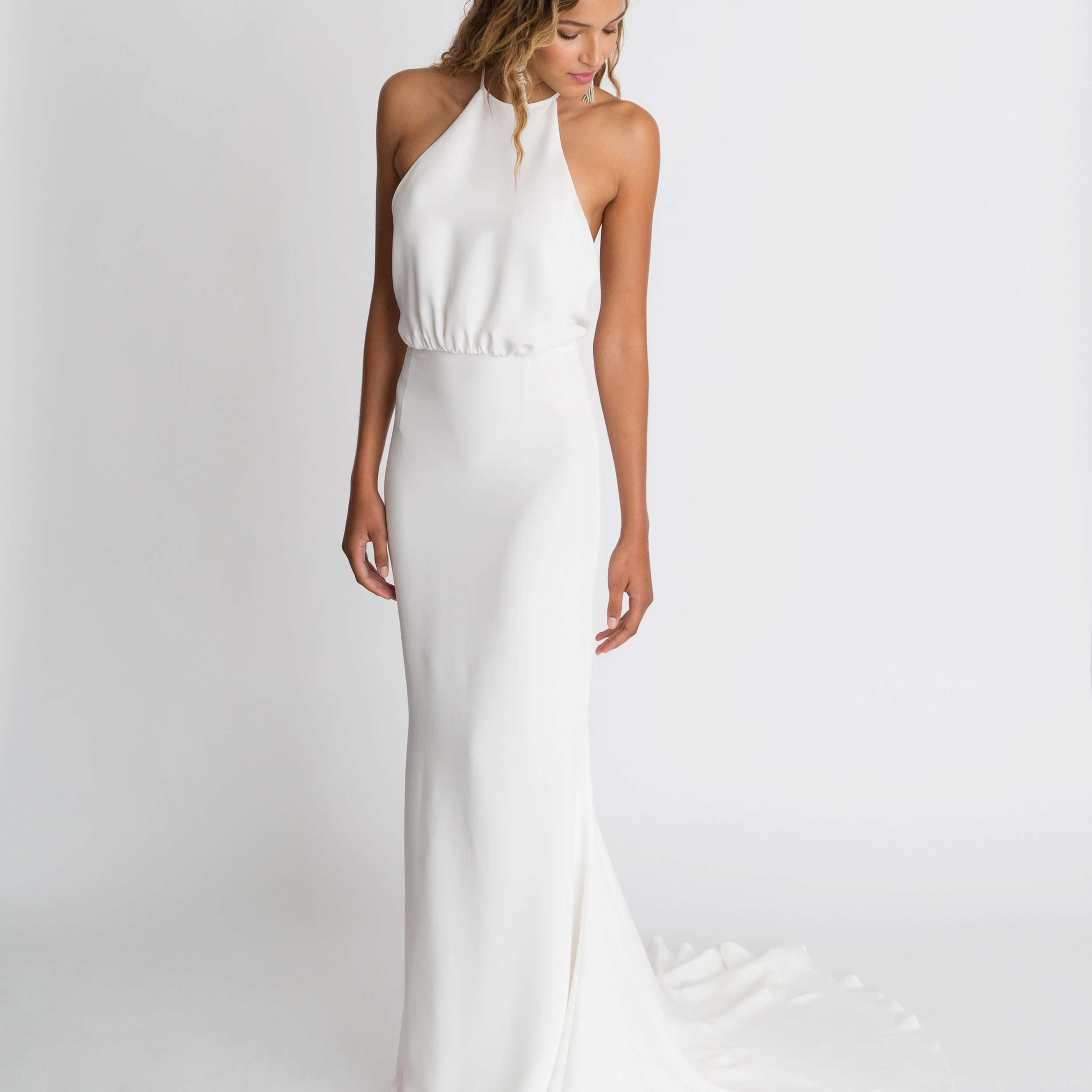 High Neck Wedding Dresses 46 Elegant Options For Every Style