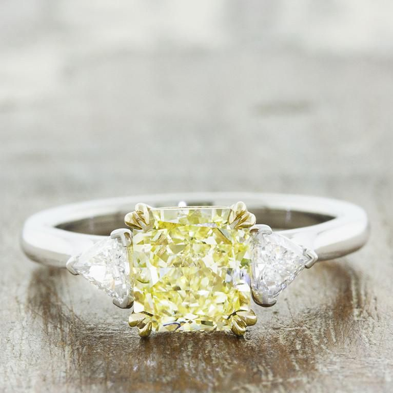 26 Yellow Diamond Engagement Rings That Are Anything But Boring