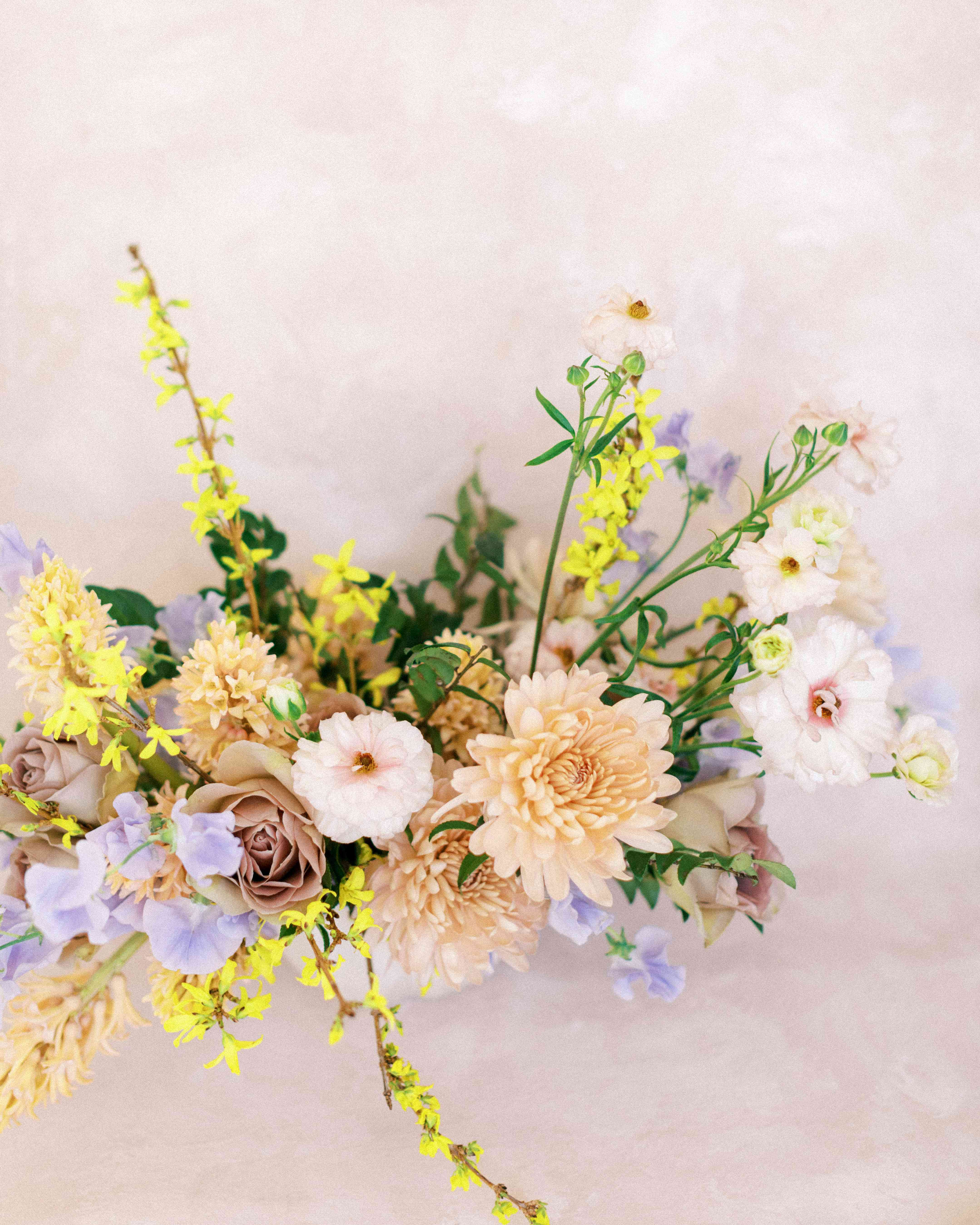 colorful flower centerpiece