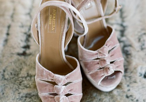 Becca Tobin's Bridal Shoes